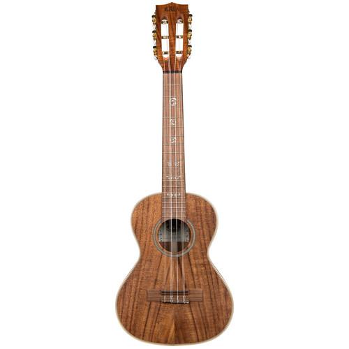 KALA KA-SA-T6 Solid Acacia Tenor 6-String Ukulele
