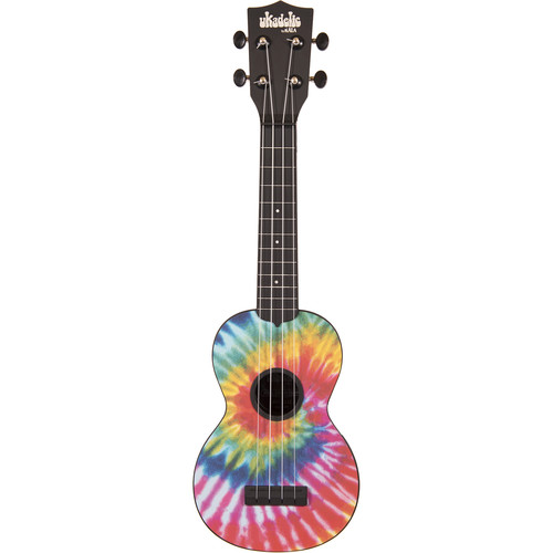 KALA KA-SU-TIEDYE Ukadelic Soprano Ukulele (Tie Dye)