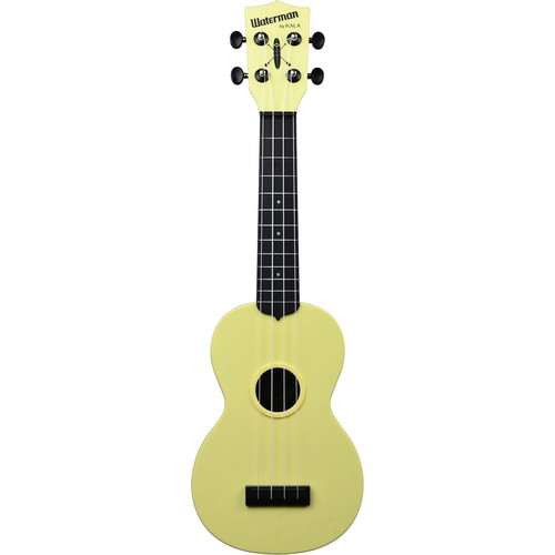 KALA KA-SWB-YL Matte Soprano Ukulele (Pale Yellow)