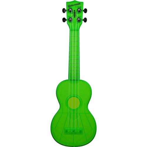 KALA KA-SWF-GN Fluorescent Soprano Ukulele (Sour Apple Green)