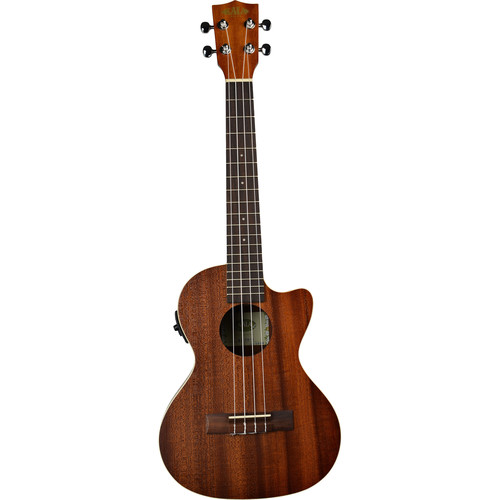 KALA KA-TE-C Satin Mahogany Tenor Cutaway Ukulele with EQ (Satin)