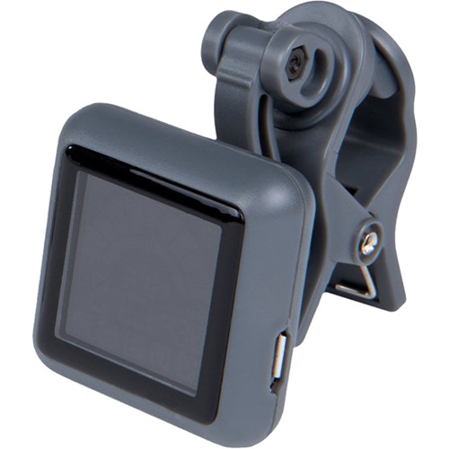 KALA Klipz Recharge Rechargeable Clip-On Instrument Tuner (Gray)