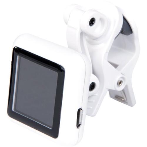 KALA Klipz Recharge Rechargeable Clip-On Instrument Tuner (White)