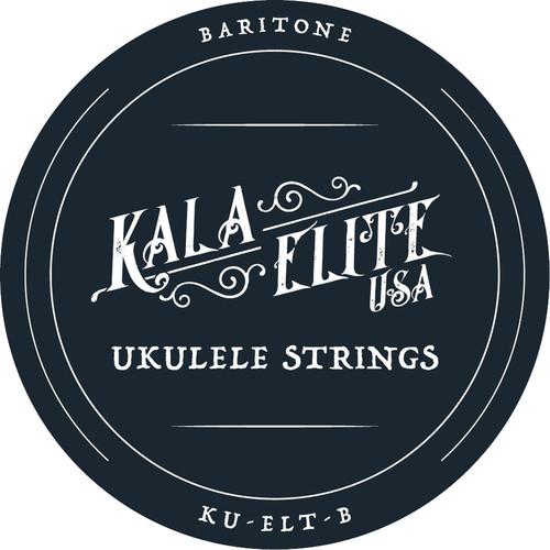 KALA Elite USA 4-String Set for Baritone Ukulele