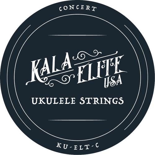 KALA Elite USA 4-String Set for Concert Ukulele
