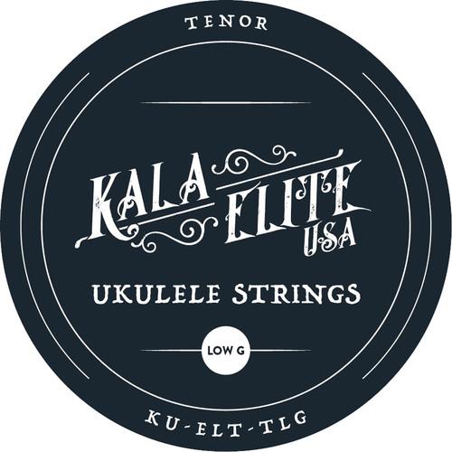 KALA Elite USA 4-String Set for Tenor Ukulele