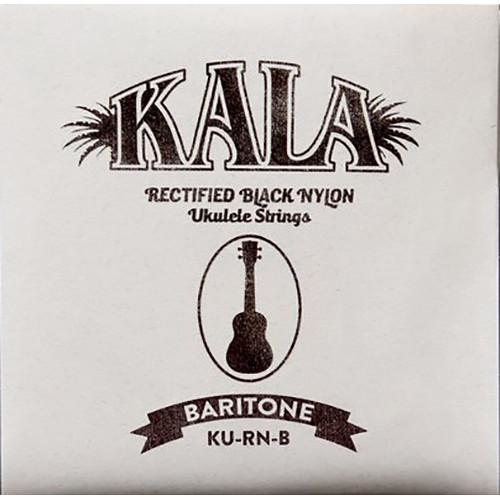 KALA Rectified Black Nylon Strings for Baritone Ukulele (4-String, 28 - 35)