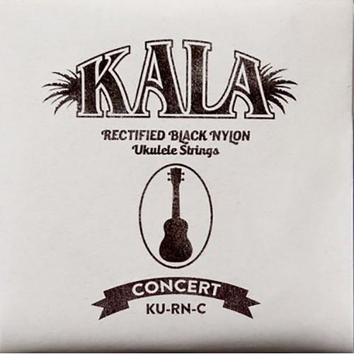KALA Rectified Black Nylon Strings for Concert Ukulele (4-String, 26 - 36)