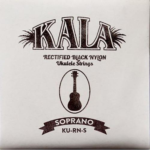 KALA Rectified Black Nylon Strings for Soprano Ukulele (4-String, 28 - 40)