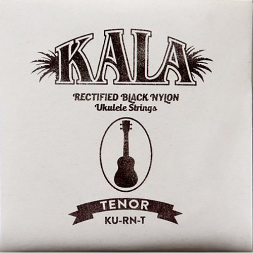 KALA Rectified Black Nylon Strings for Tenor Ukulele (4-String, 28 - 36)