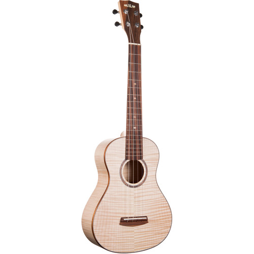 KALA MAPL-ST All Maple Super Tenor Ukulele with Hard Case and Humidifier