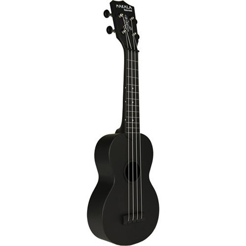 KALA Soprano Waterman Ukelele (Black)