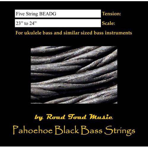 KALA Road Toad Pahoehoe U-Bass Strings (5-String Set)