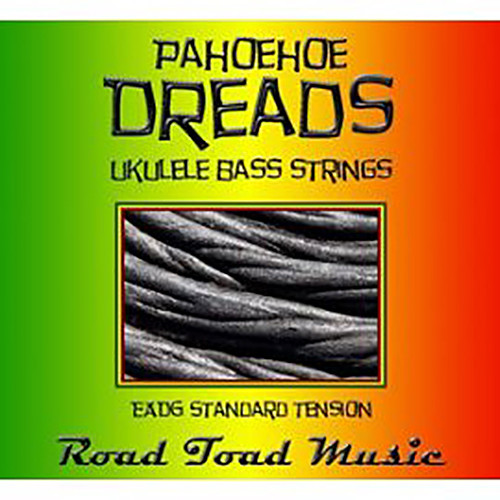 KALA Road Toad Pahoehoe Dreads U-Bass Strings (4-String Set, Multi-Colored)