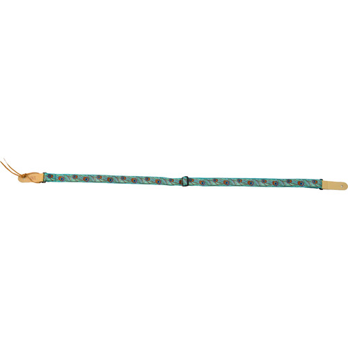"KALA Custom Designed Handmade Instrument Strap (Peacock, 1"")"