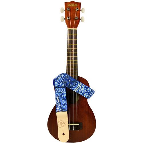 "KALA Handmade Instrument Strap (1.5"", Blue Tapa)"