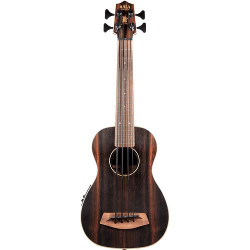 KALA UBASS-EBY-FS Striped Ebony Acoustic-Electric U-BASS