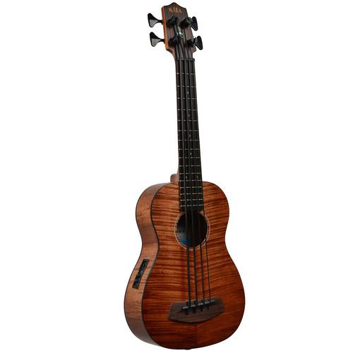 KALA UBASS-EM-FS Exotic Mahogany Acoustic-Electric U-Bass
