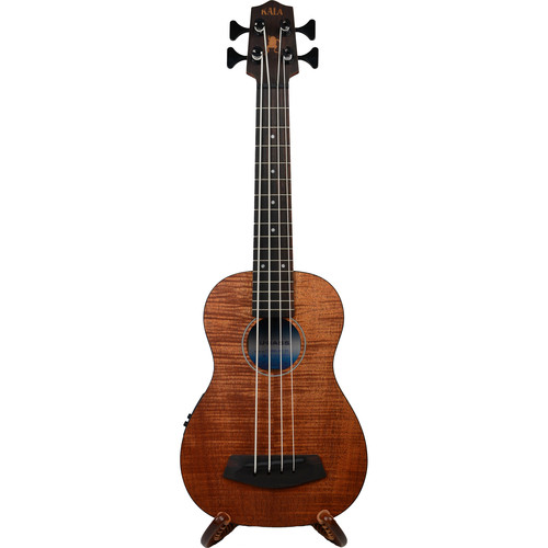 KALA UBASS-EM-FSRW Exotic Mahogany UBASS with Round Wound Strings (Satin)