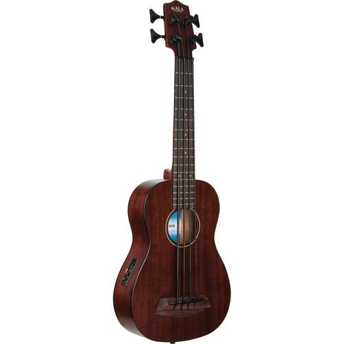 KALA UBASS-RMBL-FL Rumbler Acoustic/Electric U-Bass (Fretless)