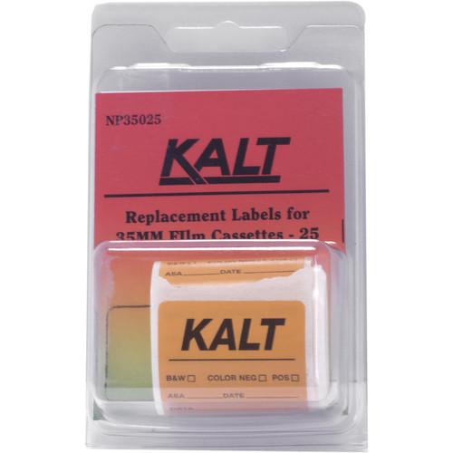 Kalt Cassette Labels (Pack of 25)