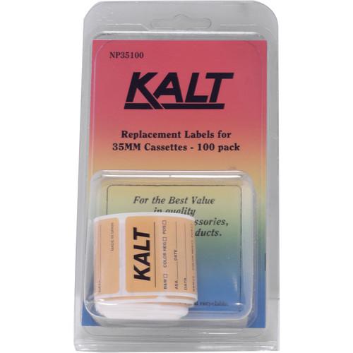 Kalt Cassette Labels (Pack of 100)