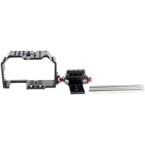 Kamerar GH-4 Fhugen Video Camera Cage for Sony a7 and Panasonic GH3/GH4