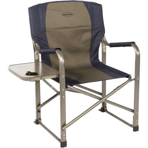 KAMP-RITE Folding Director's Chair with Side Table