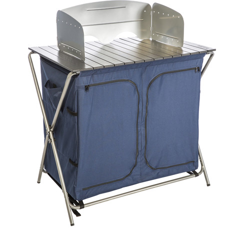 KAMP-RITE Kwik Pantry with Cooking Table