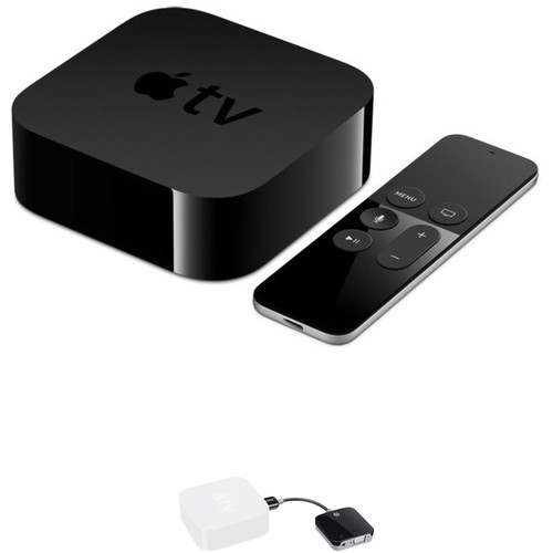 Kanex Apple TV (32GB, 4th Generation) with HDMI to VGA Adapter Kit