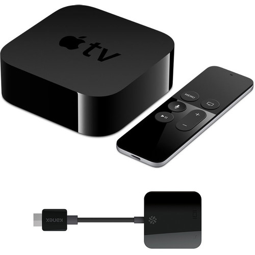 Kanex Apple TV (64GB, 4th Generation) with HDMI to VGA Adapter Kit