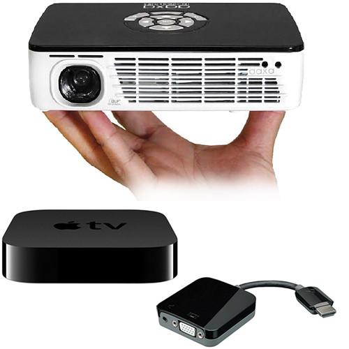 Kanex P300 Pico Projector Bundle with Apple TV and Kanex ATV Pro