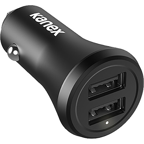 Kanex GoPower 2-Port 2.4A USB Car Charger