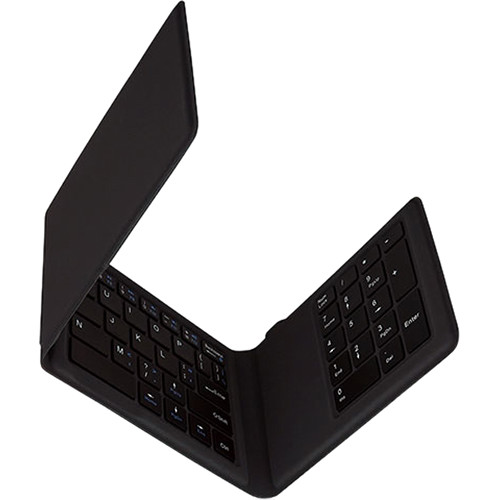 Kanex MultiSync Foldable Mini Travel Keyboard with Full Number Pad