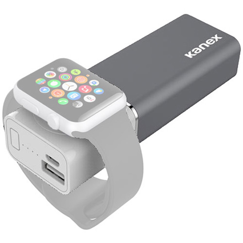 Kanex GoPower Watch Plus 5200mAh Power Bank with Apple Watch Charger