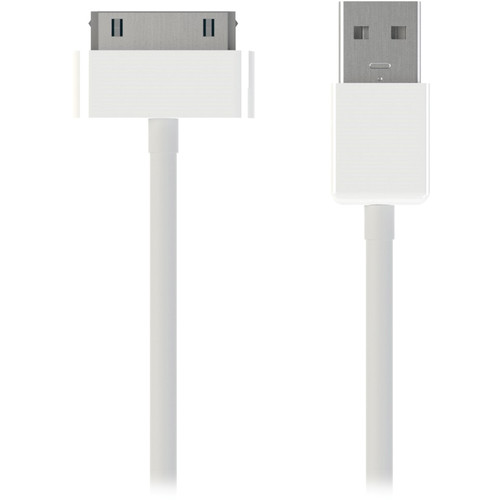 Kanex 30-Pin to USB Charge and Sync Cable for iPod/iPhone/iPad (Pair)