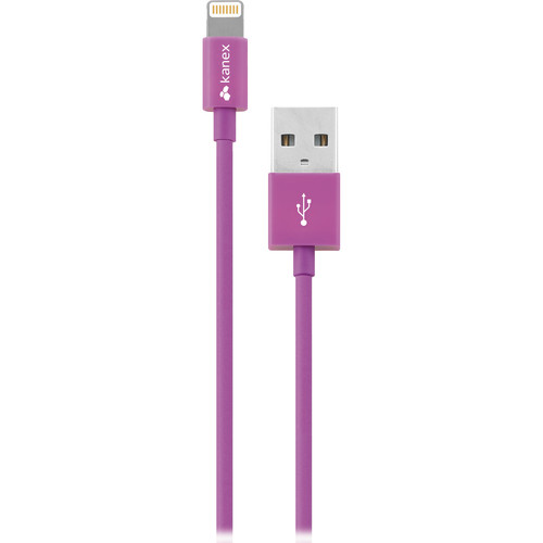 Kanex Lightning to USB Cable (4', Purple)