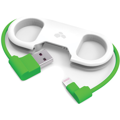 Kanex GoBuddy Portable Lightning ChargeSync Cable (Green)