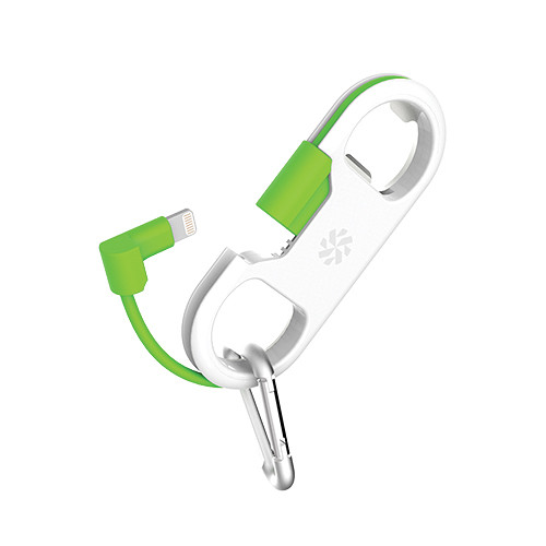Kanex GoBuddy+ Charge and Sync Cable with Lightning Connector (White-Green)