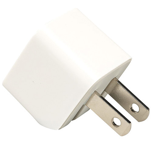 Kanex 1A mini Wall Charger for iPhone, iPod, and Smartphones (White)