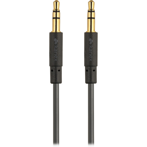 Kanex Stereo AUX Cable (6', Black)