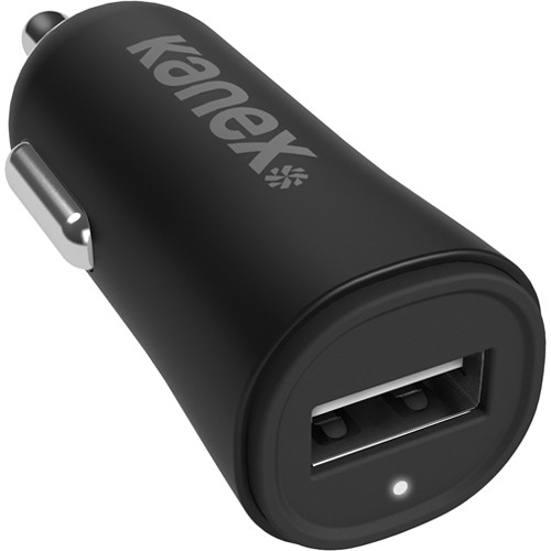 Kanex USB Car Charger V2 (Black)