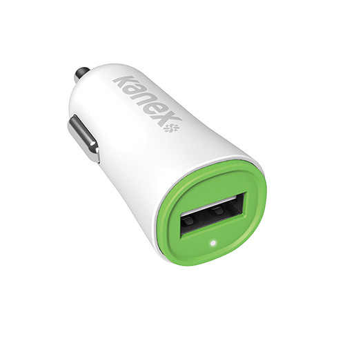 Kanex USB Car Charger V2 (Green)
