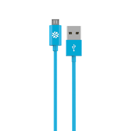 Kanex micro USB Charge and Sync Cable (Blue, 4')