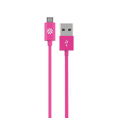 Kanex micro USB Charge and Sync Cable (Pink, 4')
