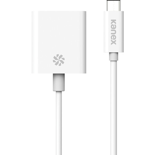 "Kanex USB Type-C to VGA Adapter (4"", White)"