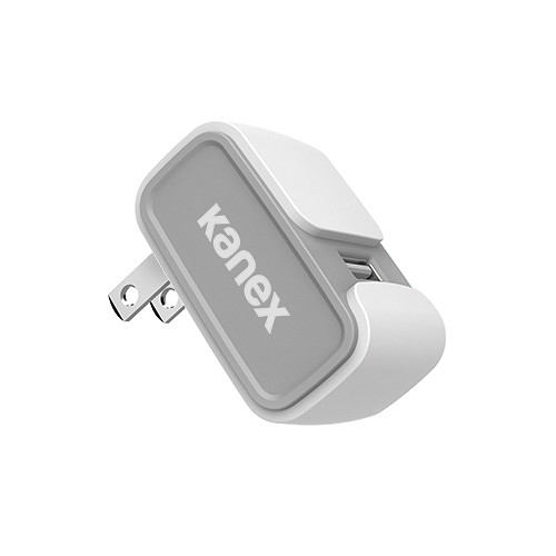 Kanex MiColor USB Wall Charger V2- 2.4A (White)