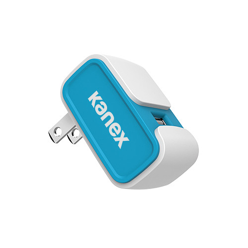 Kanex MiColor USB Wall Charger V2- 2.4A (Blue)