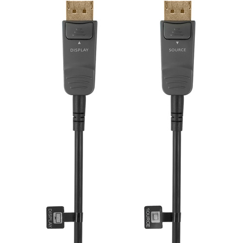 KanexPro CBL-DP14AOC30M Active Fiber DisplayPort 1.4 Cable (98.4')