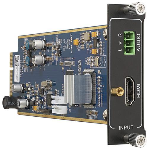 KanexPro Flexible One Input4K HDMI Card with Analog Audio Input